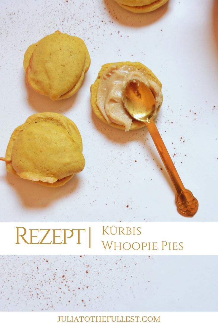 Rezept für leckere Pumpkin Whoopie Pies - Kürbis whoopie pies amerikanisch backen (1)