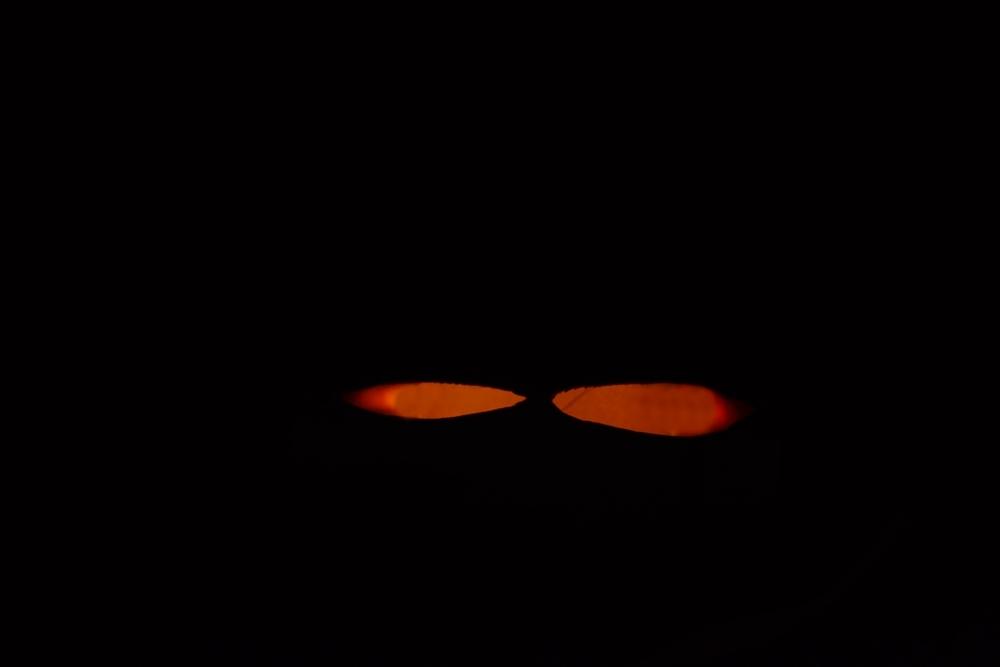 diy halloween ideen zum selber machen mit sachen die man zu hause hat, halloween party deko selber machen diy augen im dunkeln (2)