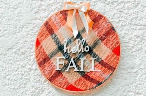 DIY Herbstkranz für die Tür Hello Fall