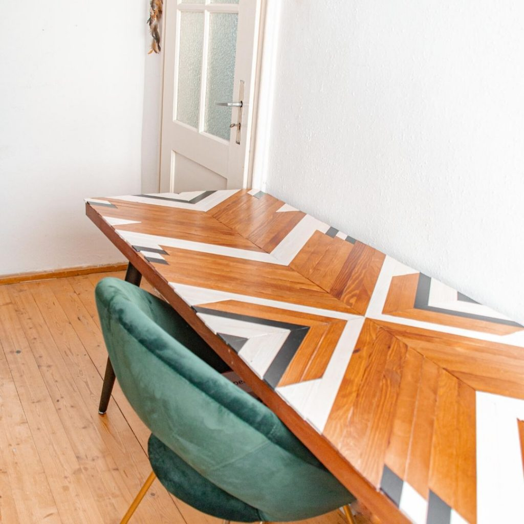 DIY Esstisch Boho Home DIY Ideen