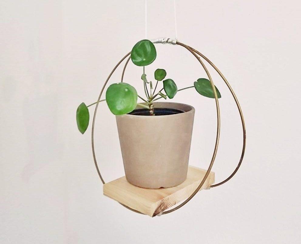 DIY Pflanzentablett