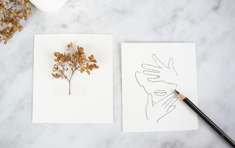 minimalistische DIY Deko