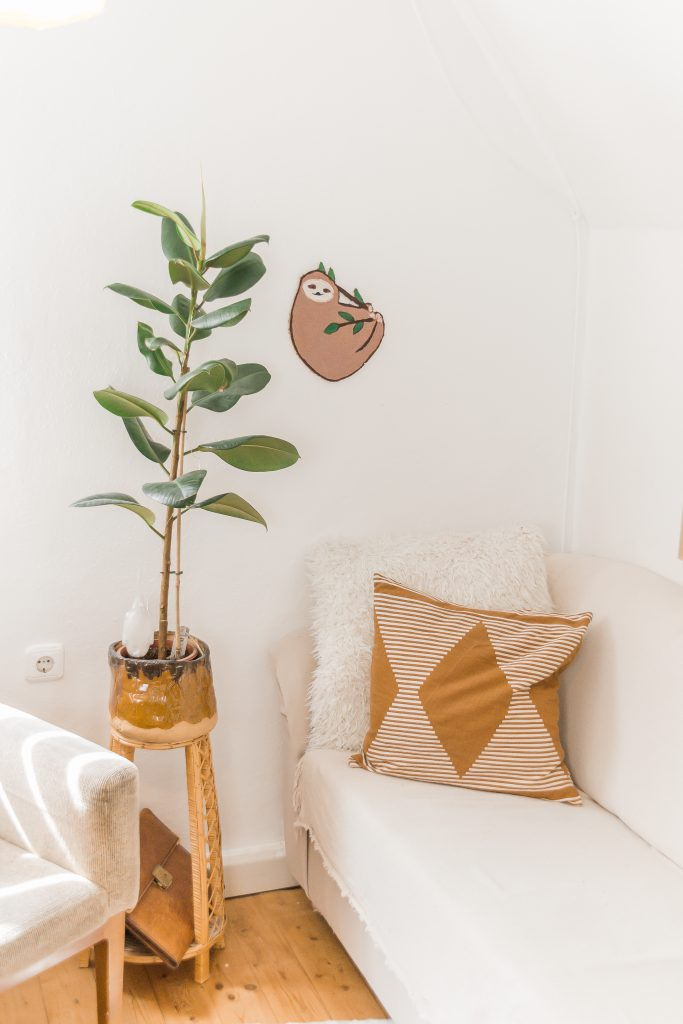 DIY Pinnwand Faultier