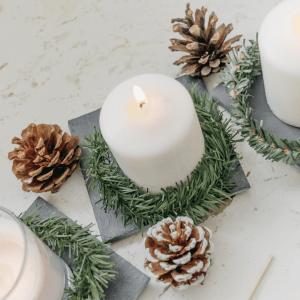 diy Blog DIY Adventskranz minimalistisch