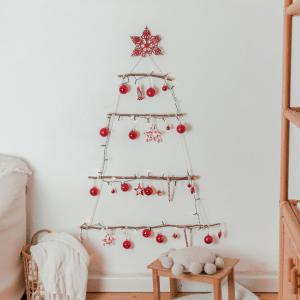 Weihnachtsbaum aus Ästen DIY Blog weihnachtsbaum Alternative