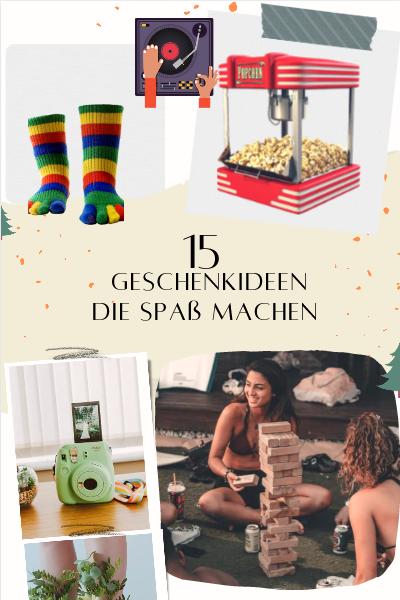 15 Geschenkideen die Spaß machen